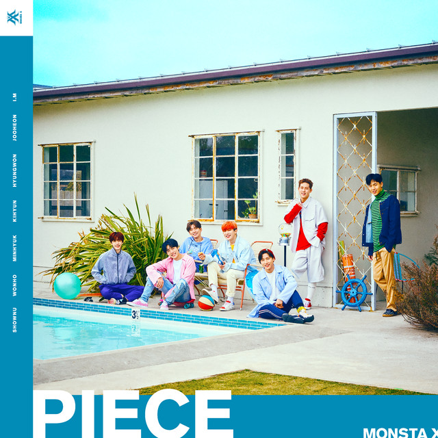 Album cover for PIECE by Monsta X
