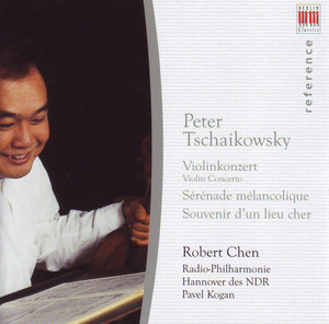 Tchaikovsky: Violin Concerto, Sérénade Mélancholique & Souvenir d'un Lieu Cher Albumcover