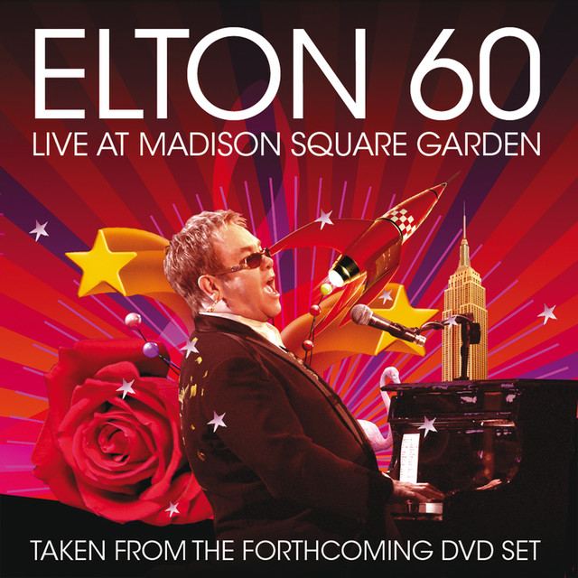 Elton 60 - Live At Madison Square Garden Albumcover
