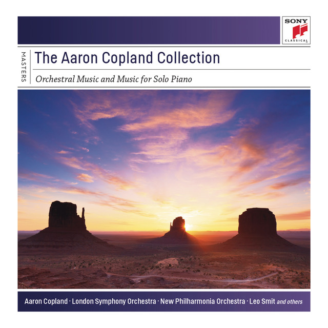 The Aaron Copland Collection: Orchestral Music and Music for Solo Piano Albumcover