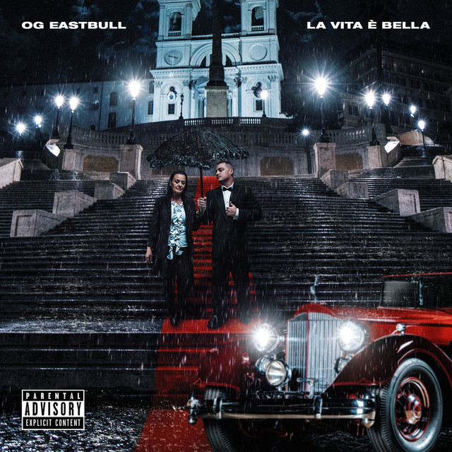 Album cover for La vita è bella by OG Eastbull, Mago del Blocco