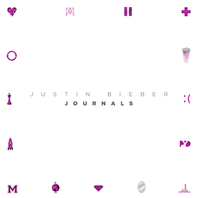 Justin Bieber Journals album cover
