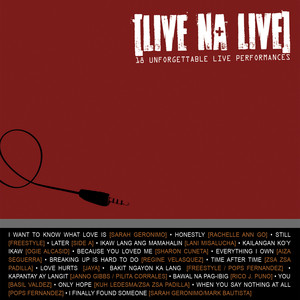 Live Na Live: 18 Unforgettable Live Performances - Rico J. Puno