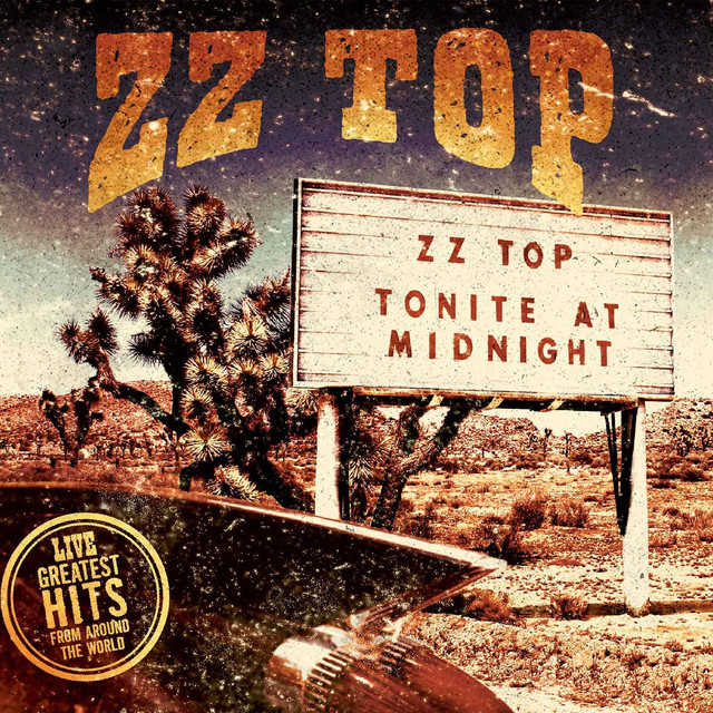 Album cover for Live - Greatest Hits From Around The World by ZZ Top