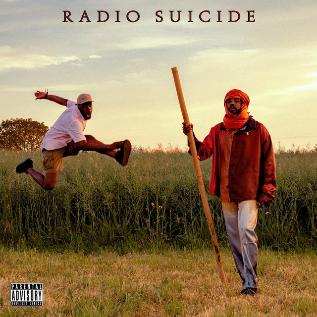Album cover for Radio Suicide by Makala