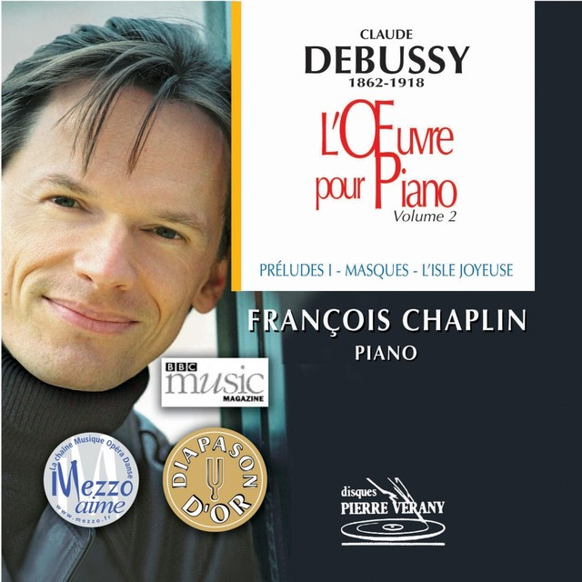 Debussy : L'oeuvre pour piano, vol. 2 Albumcover
