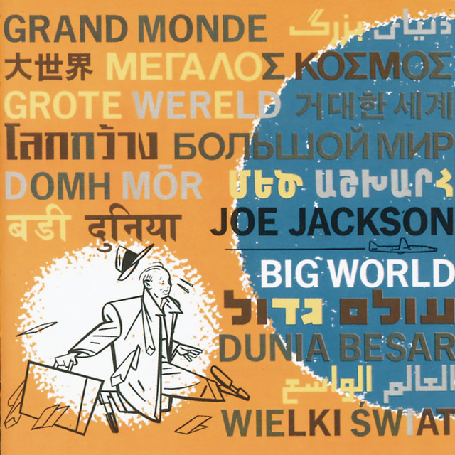 Big World (Live At The Roundabout Theatre, New York City/1986) Albumcover