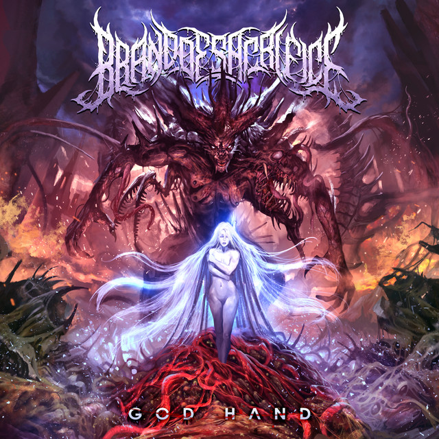 Album cover for God Hand by Brand of Sacrifice