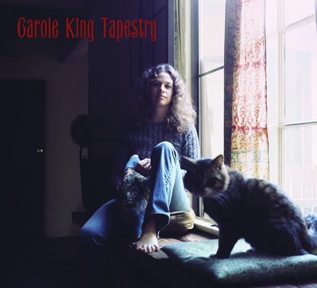 Skivomslag för Carole King: Tapestry