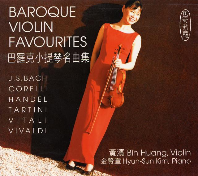 Baroque Violin Favourites Albumcover