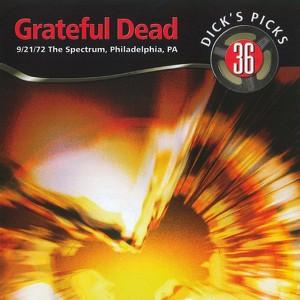Dick's Picks Vol. 36: 9/21/72 (The Spectrum, Philadelphia, PA) Albumcover