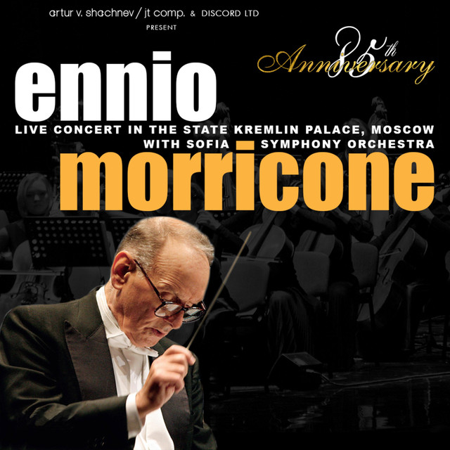 Album cover for 85th Anniversary (Live Concert in the Kremlin Palace) by Ennio Morricone