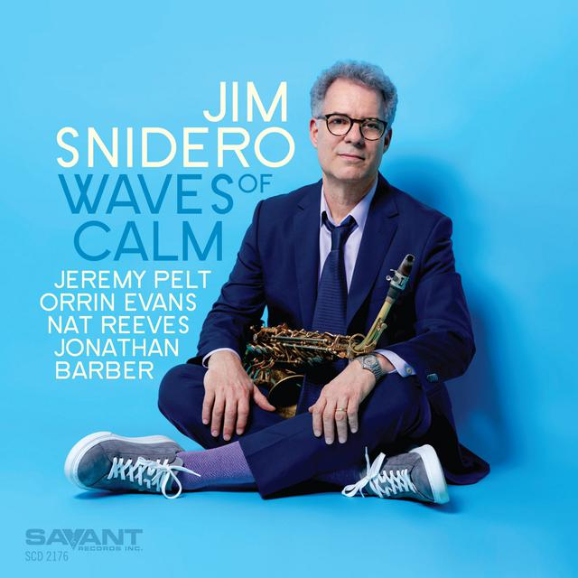 Album cover for Waves of Calm by Jim Snidero