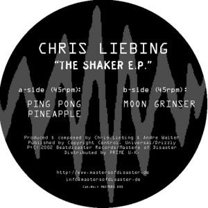Copertina di Chris Liebing - Ping Pong Pineapple