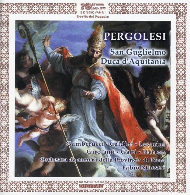 Pergolesi: Li prodigi della divina grazia nella conversione di San Guglielmo Duca d'Aquitania (Live) Albumcover