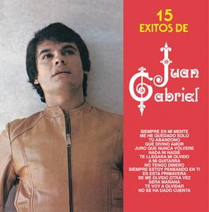 15 Exitos De Juan Gabriel Albumcover