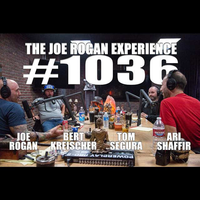 #1036 - Ari Shaffir, Bert Kreischer & Tom Segura