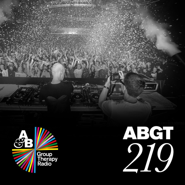Album cover for Group Therapy 219 by Above & Beyond