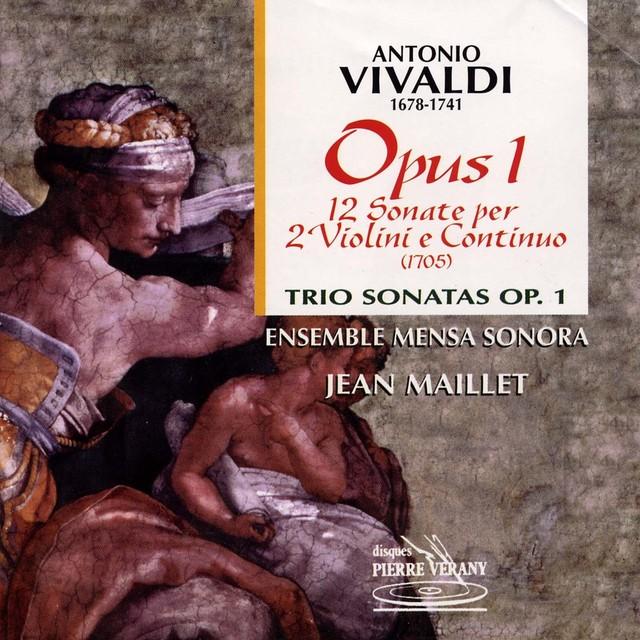 Vivaldi : 12 Sonate per 2 violoni e continuo, Op. 1 Albumcover
