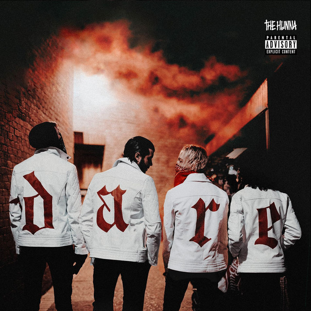 Album cover for Dare by The Hunna