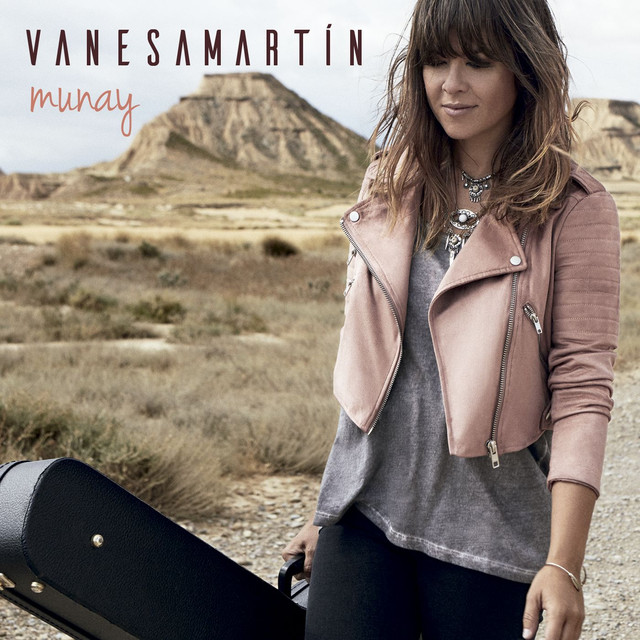 Album cover for Munay by Vanesa Martín