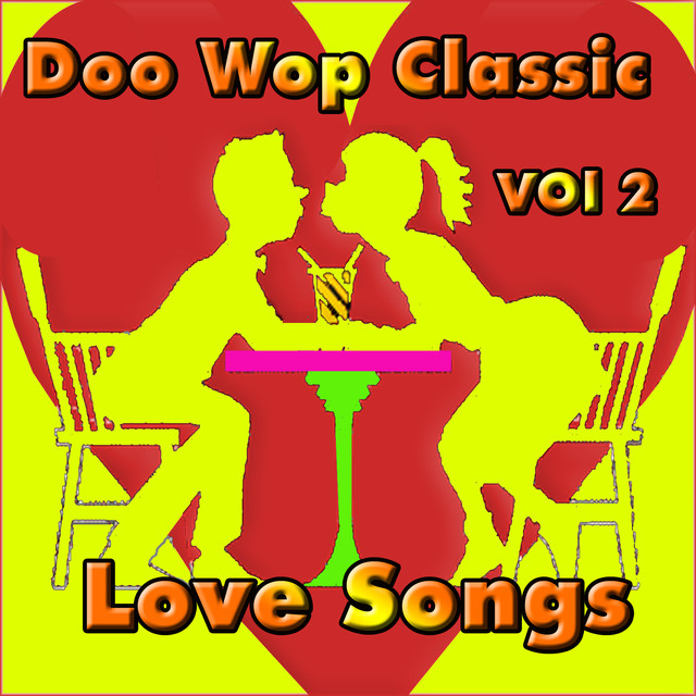 Various Artists Doo Wop Classic Love Songs vol 2 album cover