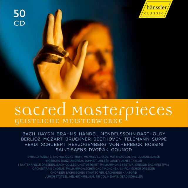 Sacred Master Pieces Stuttgart Gachinger Kantorei, Stuttgart Bach Collegium, Rilling