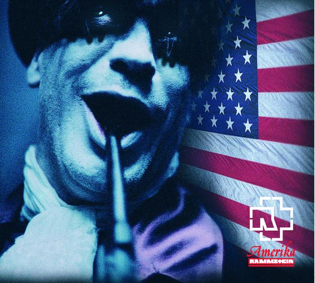 Rammstein Amerika album cover