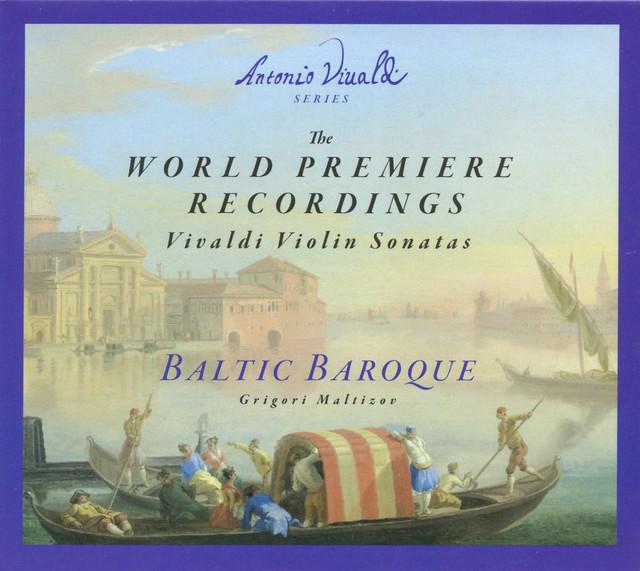 The World Premiere Recordings: Vivaldi Violin Sonatas Albumcover