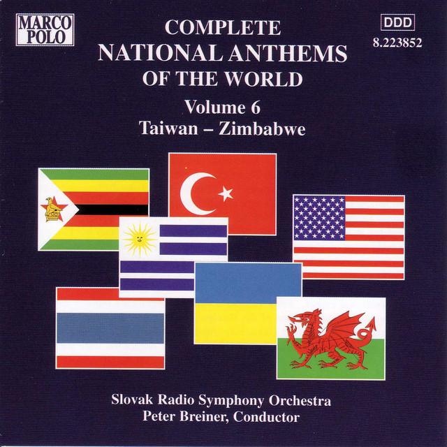 National Anthems Of The World, Vol. 6: Taiwan - Zimbabwe