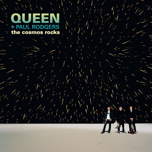 Skivomslag för Queen & Paul Rodgers: The Cosmos Rocks