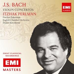 Bach: Violin Concertos etc Albumcover
