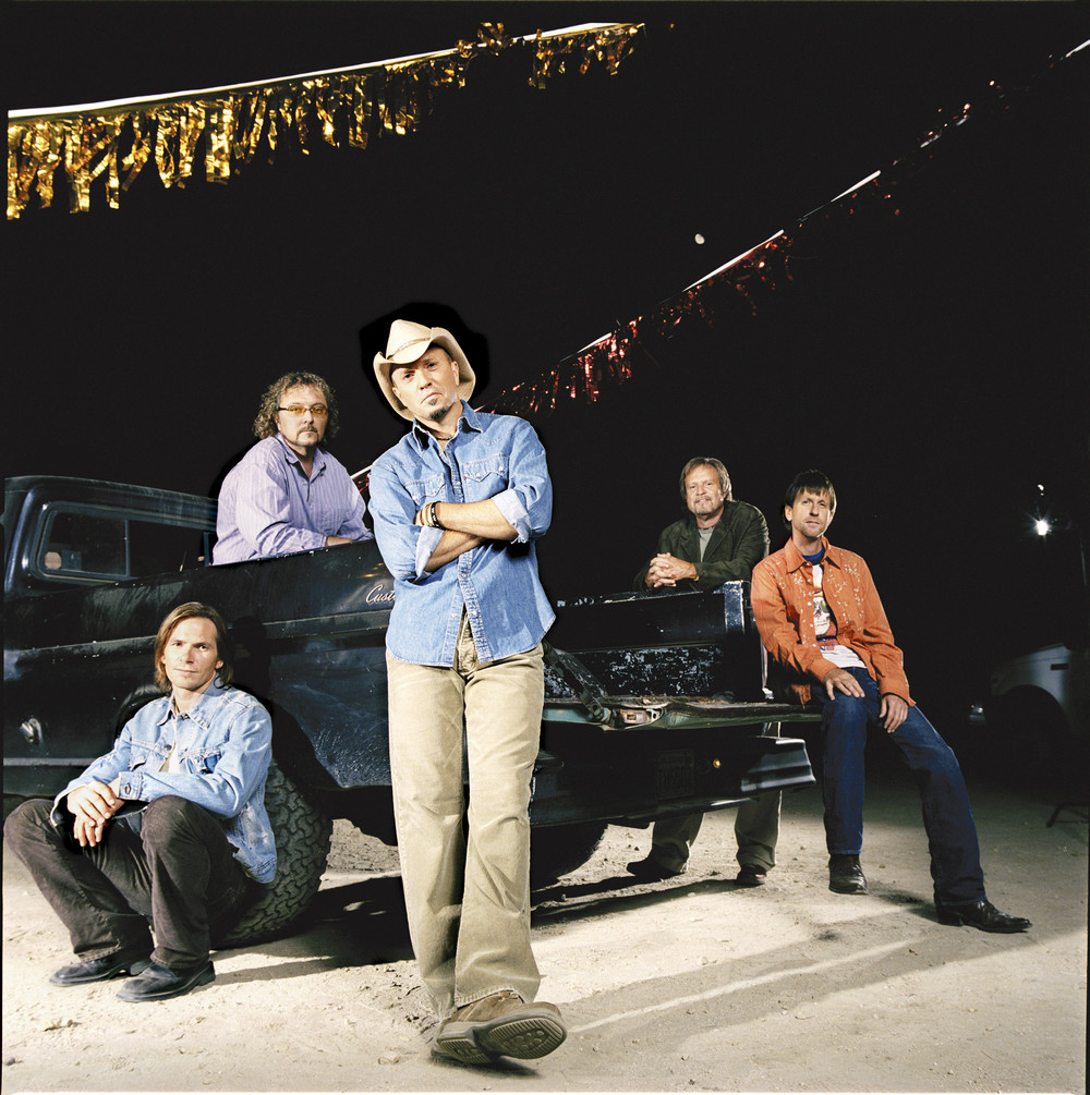 Album cover for Blue Denim Soul LP by Sawyer Brown