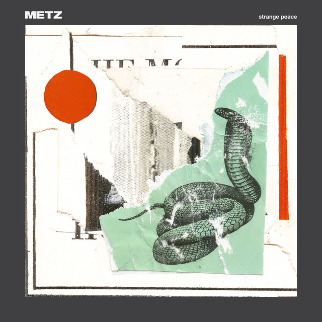 Album cover for Strange Peace by Metz