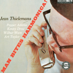 Album cover for Man Bites Harmonica by Toots Thielemans