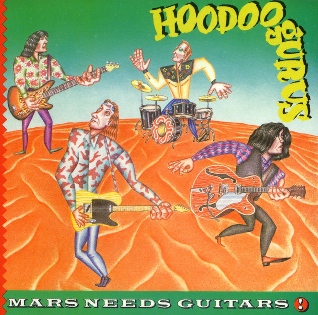 Mars Needs Guitars!