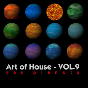 Art Of House - VOL.9 (Gas Planets) Albumcover