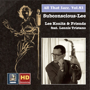 Lee Konitz, Lennie Tristano Too Marvelous for Words cover
