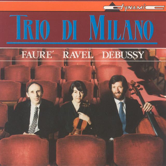 Debussy - Ravel - Fauré: Piano Trios Albumcover