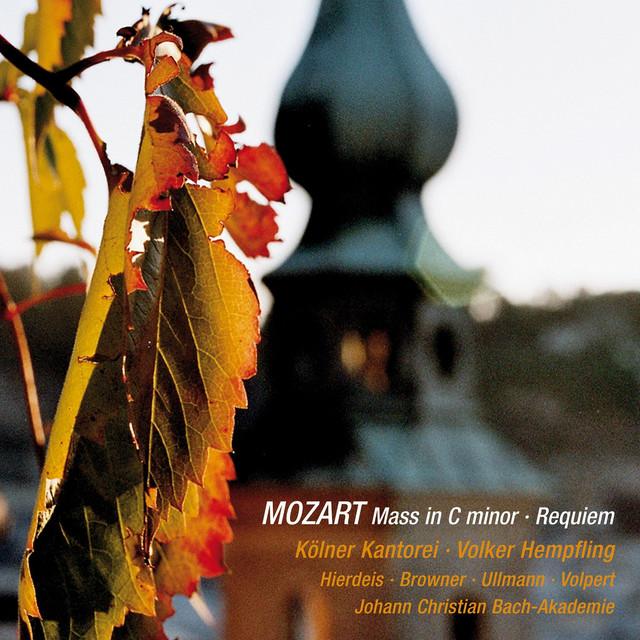 Wolfgang Amadeus Mozart: Great Mass in C Minor & Requiem in D Minor (Live) Albumcover
