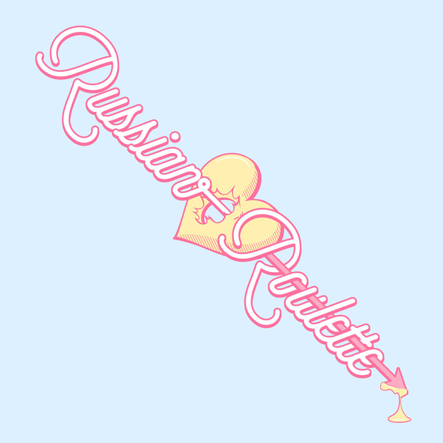 Album cover for Russian Roulette - The 3rd Mini Album by Red Velvet
