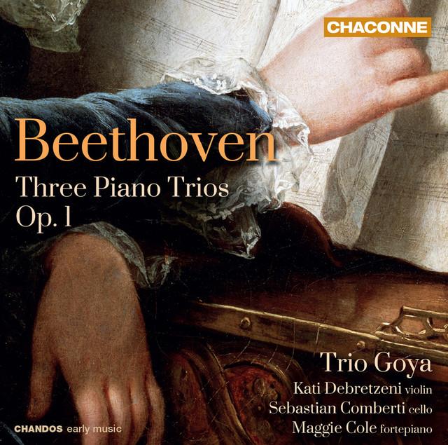 Album cover for Beethoven: Piano Trios Nos. 1-3 by Ludwig van Beethoven, Trio Goya