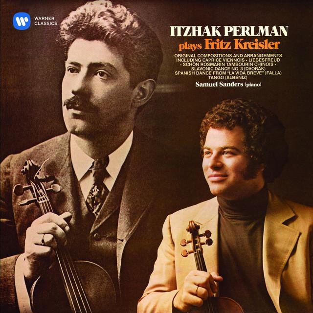 Itzhak Perlman plays Fritz Kreisler Albumcover