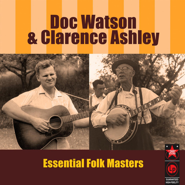 Doc Watson & Clarence Ashley Essential Folk Masters album cover