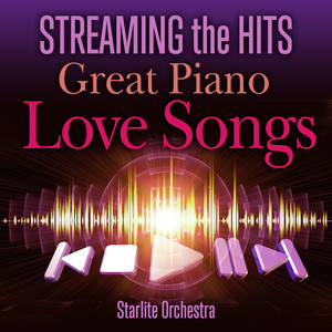Streaming the Hits Great Piano Love Songs Albumcover