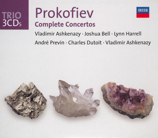 Prokofiev: The Piano Concertos/Violin Concertos etc (3 CDs)