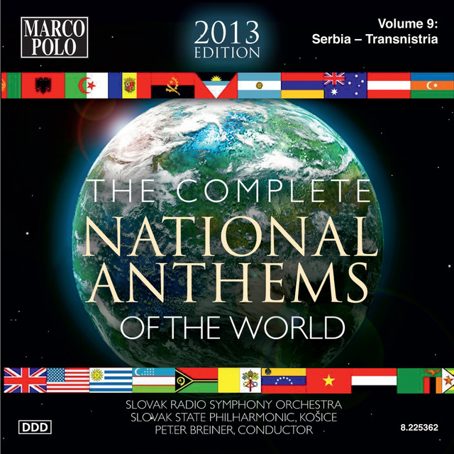 The Complete National Anthems of the World (2013 Edition), Vol. 9