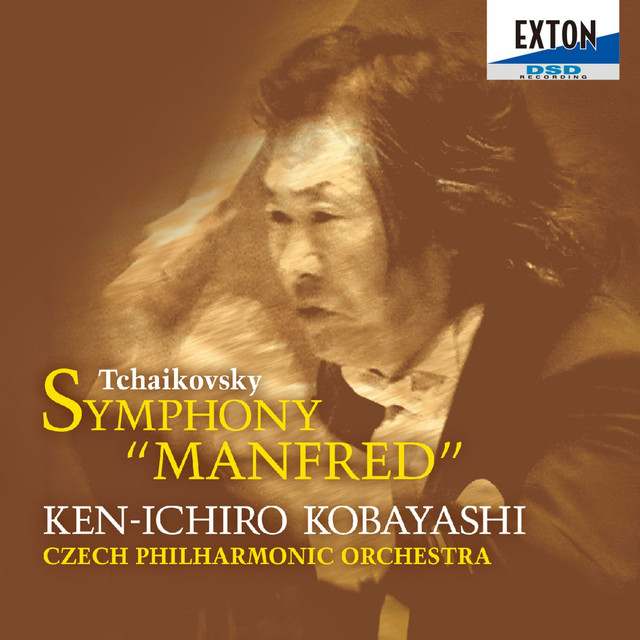 Tchaikovsky: Symphony Manfred Albumcover