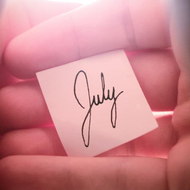 Calendar Project: July