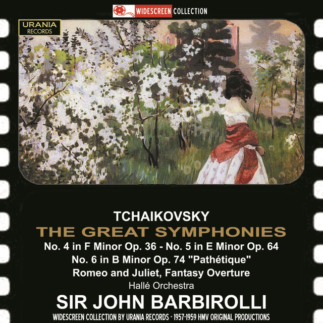 Tchaikovsky: The Great Symphonies Albumcover